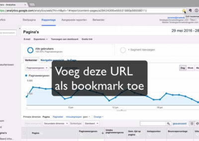 Google Analytics snelstart