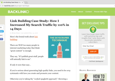 15 linkbuilding case studies